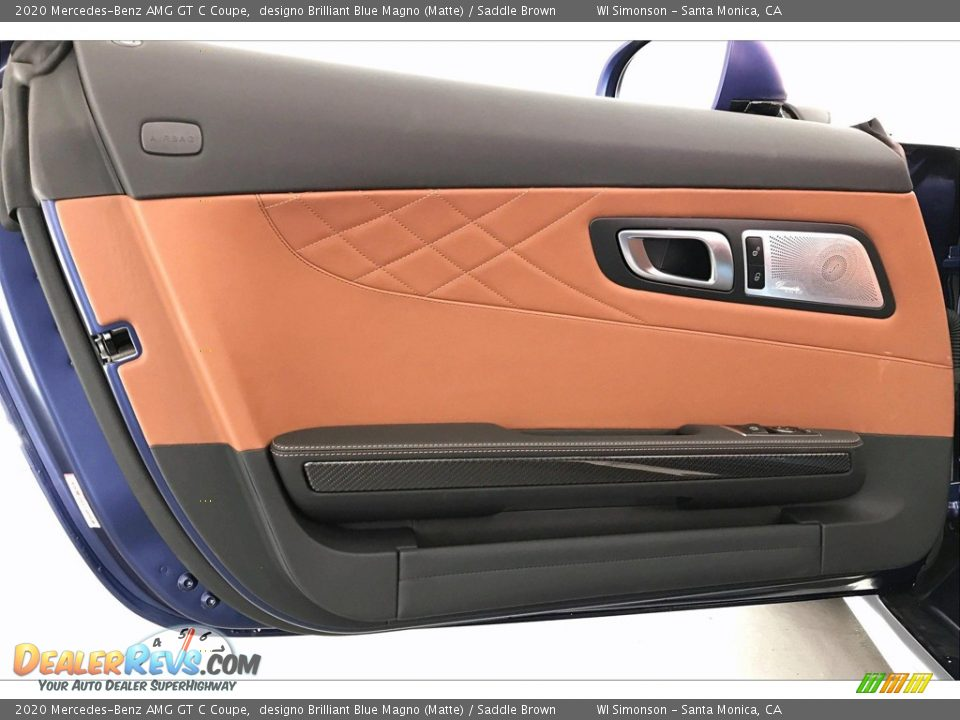 Door Panel of 2020 Mercedes-Benz AMG GT C Coupe Photo #23