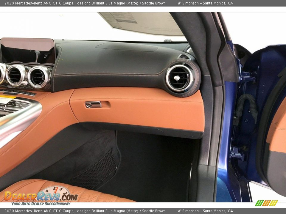Dashboard of 2020 Mercedes-Benz AMG GT C Coupe Photo #26
