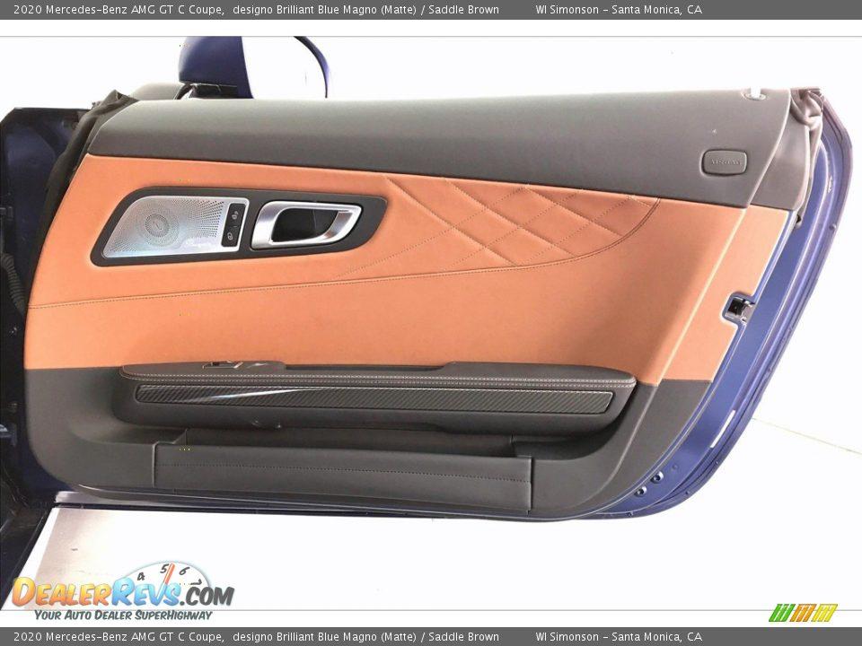 Door Panel of 2020 Mercedes-Benz AMG GT C Coupe Photo #27