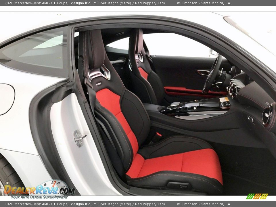 Front Seat of 2020 Mercedes-Benz AMG GT Coupe Photo #6