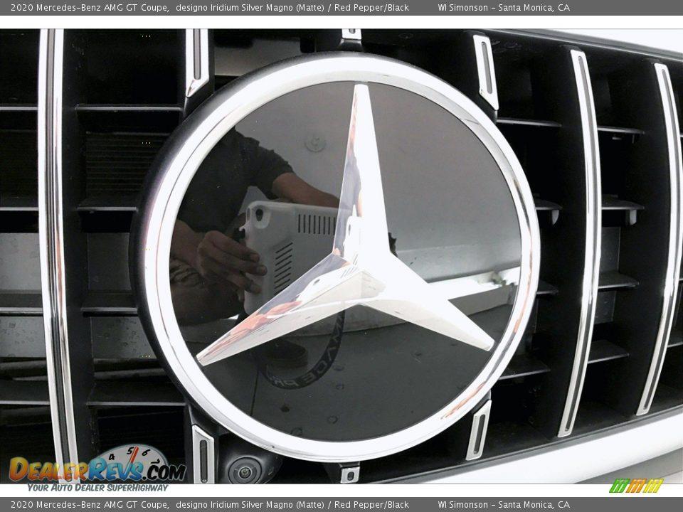 2020 Mercedes-Benz AMG GT Coupe designo Iridium Silver Magno (Matte) / Red Pepper/Black Photo #31