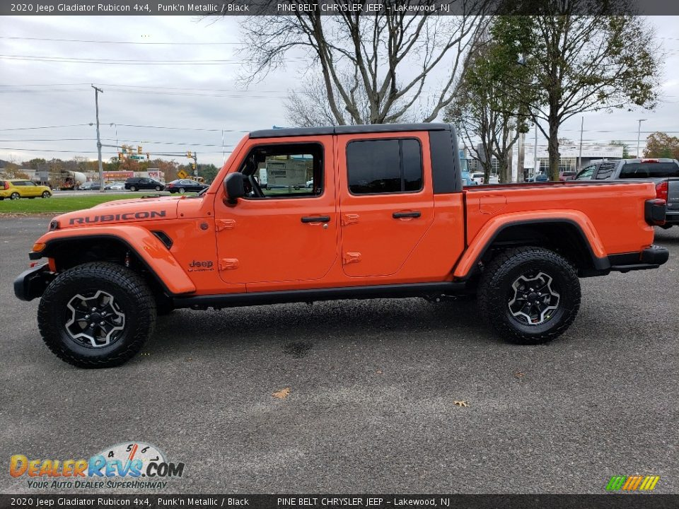 Punk'n Metallic 2020 Jeep Gladiator Rubicon 4x4 Photo #3