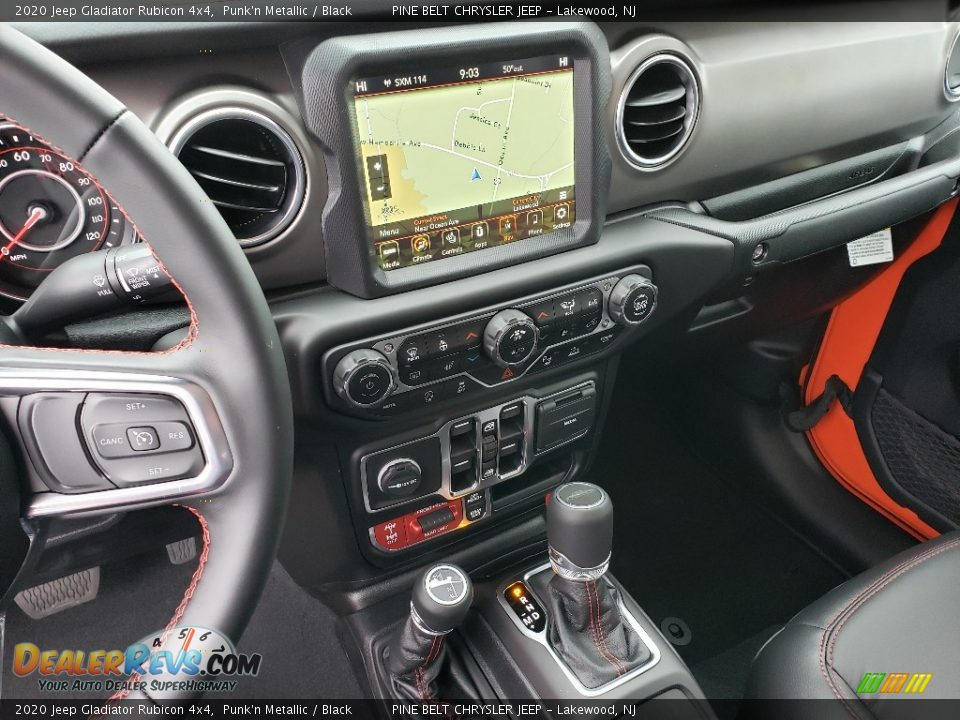 Navigation of 2020 Jeep Gladiator Rubicon 4x4 Photo #10