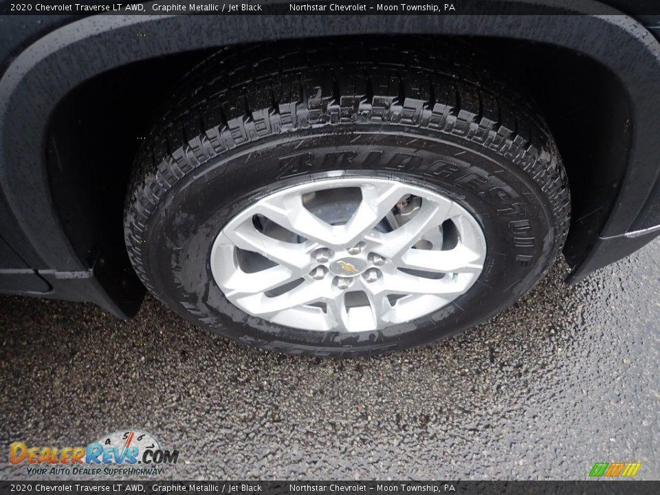2020 Chevrolet Traverse LT AWD Graphite Metallic / Jet Black Photo #9