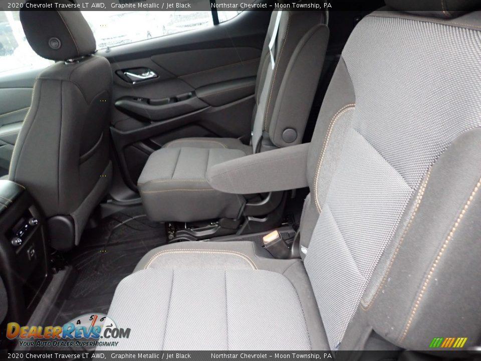 2020 Chevrolet Traverse LT AWD Graphite Metallic / Jet Black Photo #12