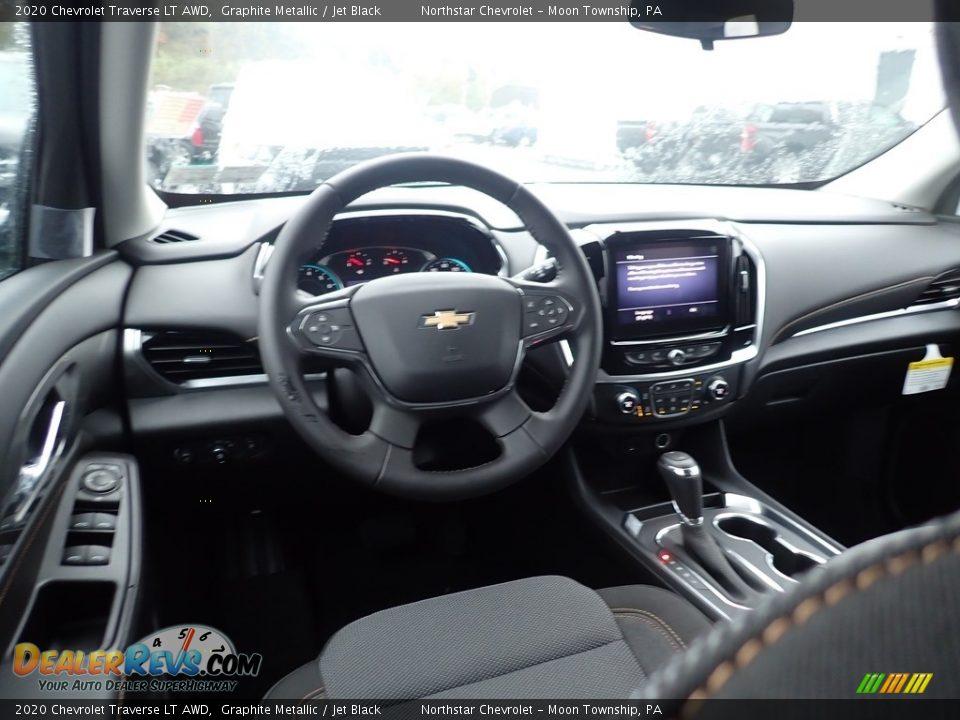 2020 Chevrolet Traverse LT AWD Graphite Metallic / Jet Black Photo #13