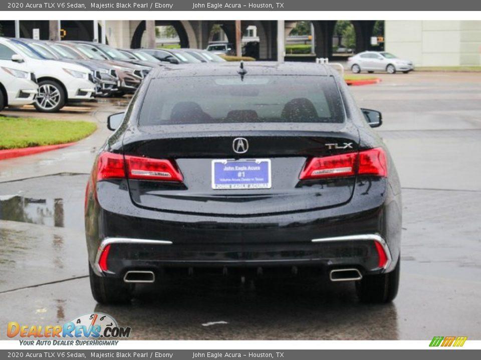 2020 Acura TLX V6 Sedan Majestic Black Pearl / Ebony Photo #6