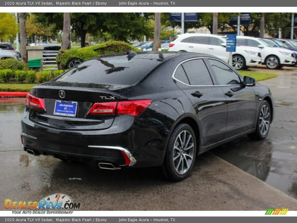 2020 Acura TLX V6 Sedan Majestic Black Pearl / Ebony Photo #7