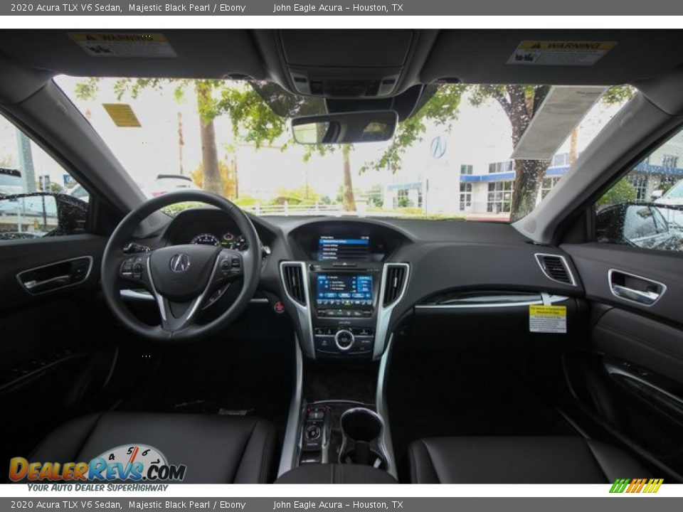 2020 Acura TLX V6 Sedan Majestic Black Pearl / Ebony Photo #9