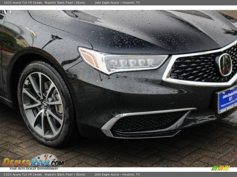 2020 Acura TLX V6 Sedan Majestic Black Pearl / Ebony Photo #10