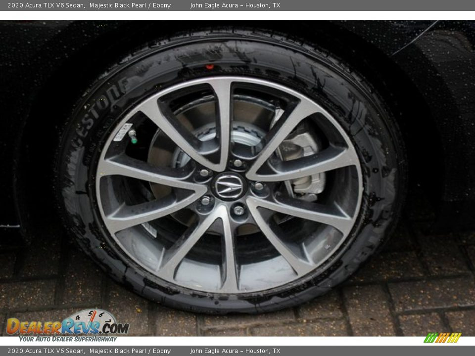 2020 Acura TLX V6 Sedan Majestic Black Pearl / Ebony Photo #11