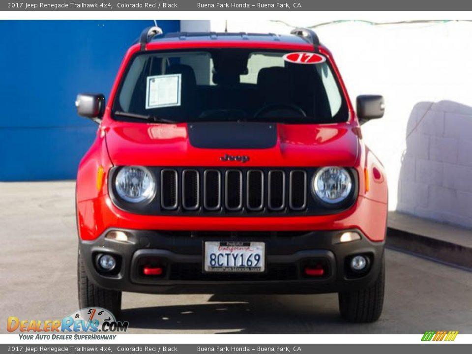 2017 Jeep Renegade Trailhawk 4x4 Colorado Red / Black Photo #7