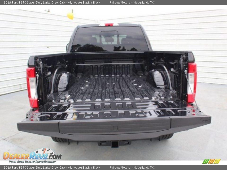 2019 Ford F250 Super Duty Lariat Crew Cab 4x4 Agate Black / Black Photo #24