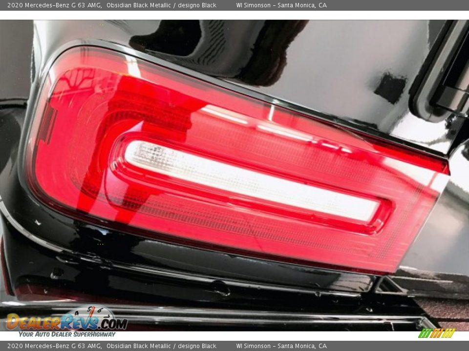2020 Mercedes-Benz G 63 AMG Obsidian Black Metallic / designo Black Photo #26