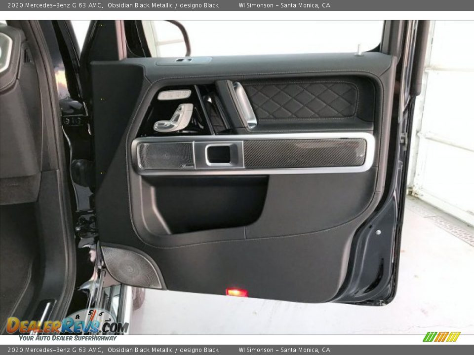 Door Panel of 2020 Mercedes-Benz G 63 AMG Photo #30