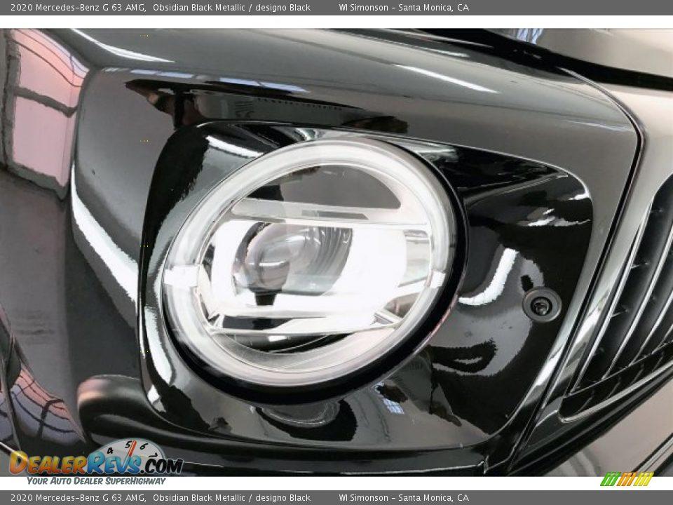2020 Mercedes-Benz G 63 AMG Obsidian Black Metallic / designo Black Photo #32