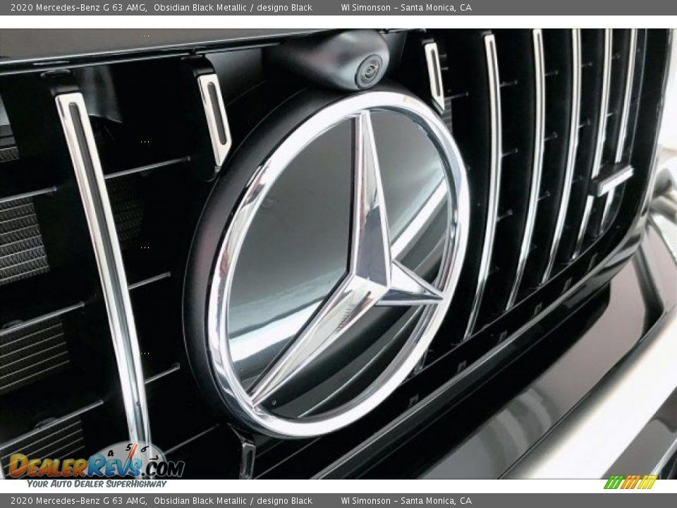 2020 Mercedes-Benz G 63 AMG Obsidian Black Metallic / designo Black Photo #33
