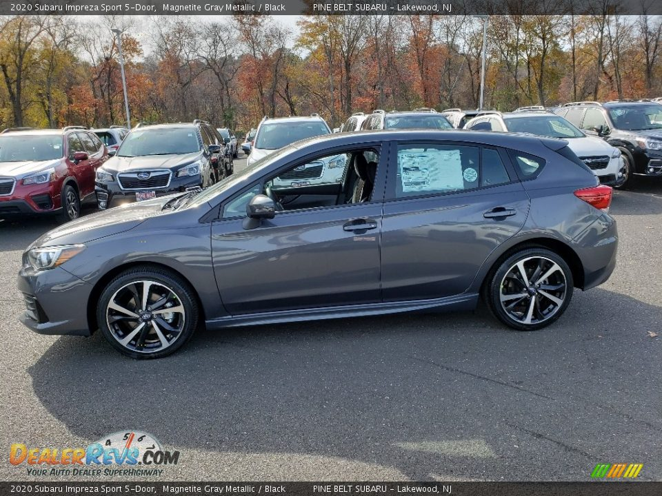 2020 Subaru Impreza Sport 5-Door Magnetite Gray Metallic / Black Photo #3