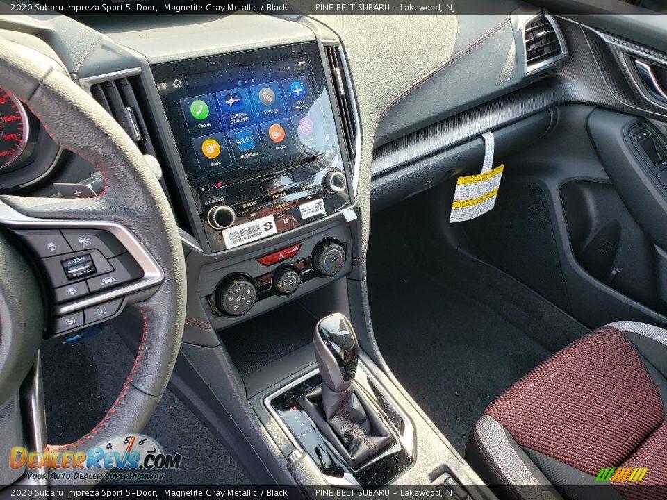 2020 Subaru Impreza Sport 5-Door Magnetite Gray Metallic / Black Photo #10