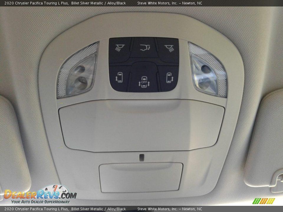 2020 Chrysler Pacifica Touring L Plus Billet Silver Metallic / Alloy/Black Photo #34