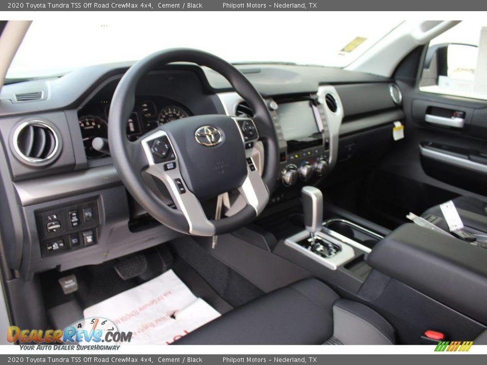 2020 Toyota Tundra TSS Off Road CrewMax 4x4 Cement / Black Photo #21
