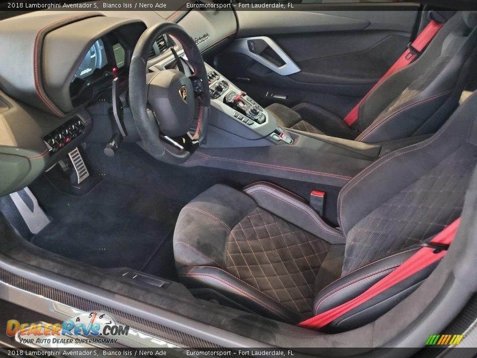 Front Seat of 2018 Lamborghini Aventador S Photo #14