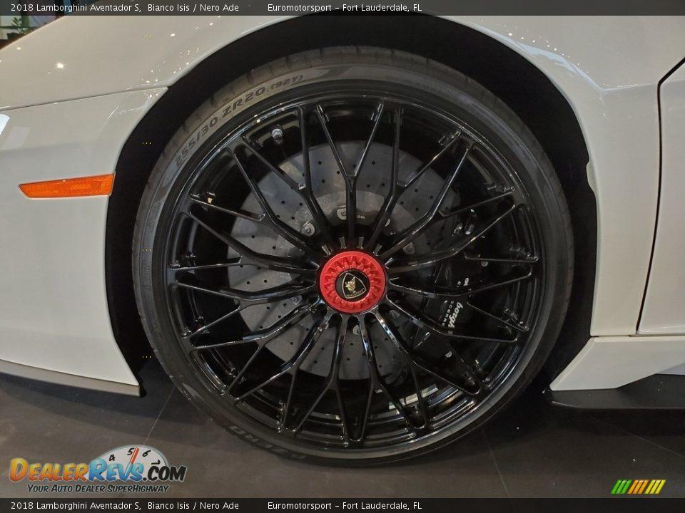 2018 Lamborghini Aventador S Wheel Photo #23