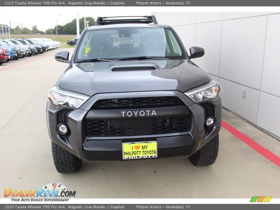 2020 Toyota 4Runner TRD Pro 4x4 Magnetic Gray Metallic / Graphite Photo #3