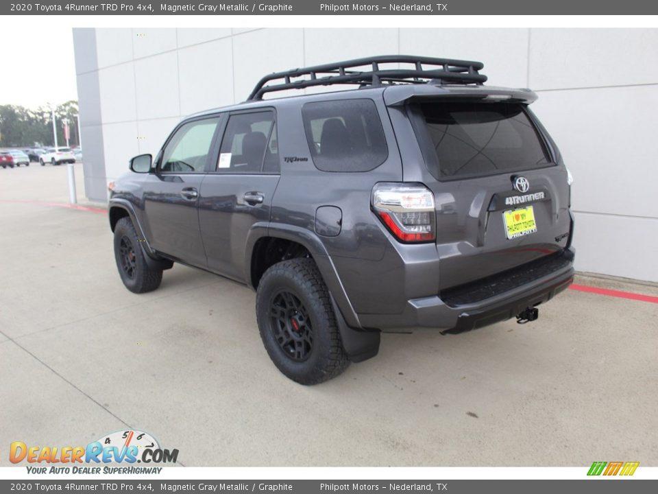2020 Toyota 4Runner TRD Pro 4x4 Magnetic Gray Metallic / Graphite Photo #6