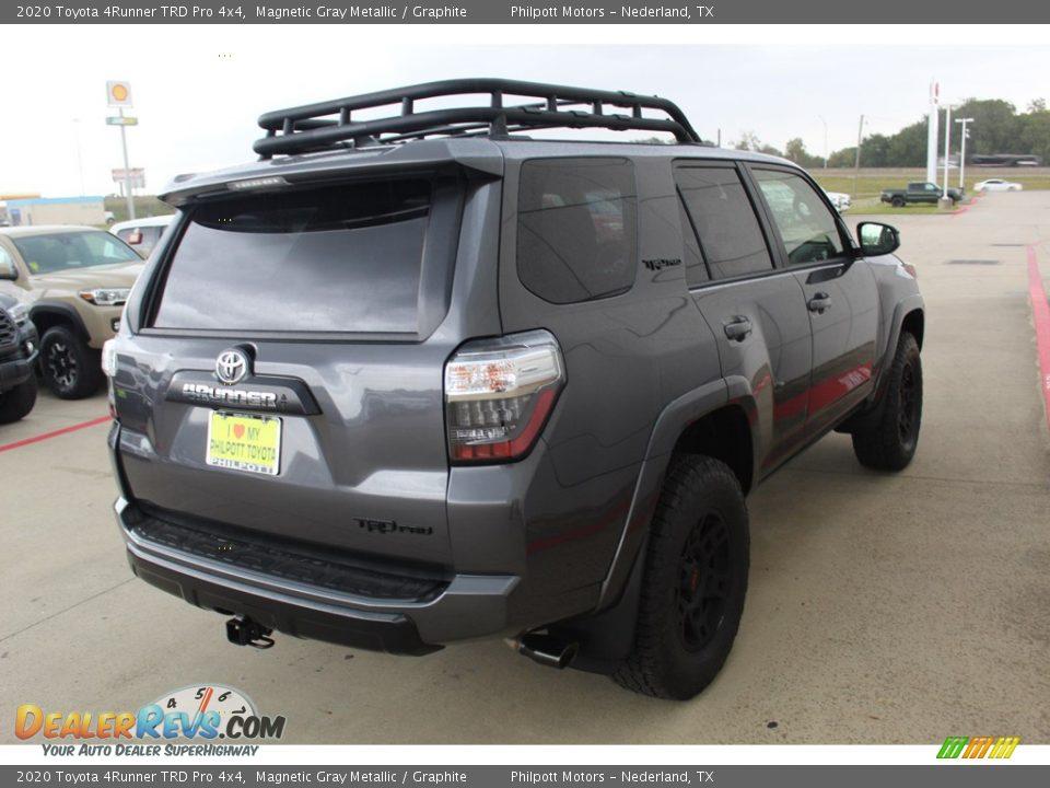 2020 Toyota 4Runner TRD Pro 4x4 Magnetic Gray Metallic / Graphite Photo #8