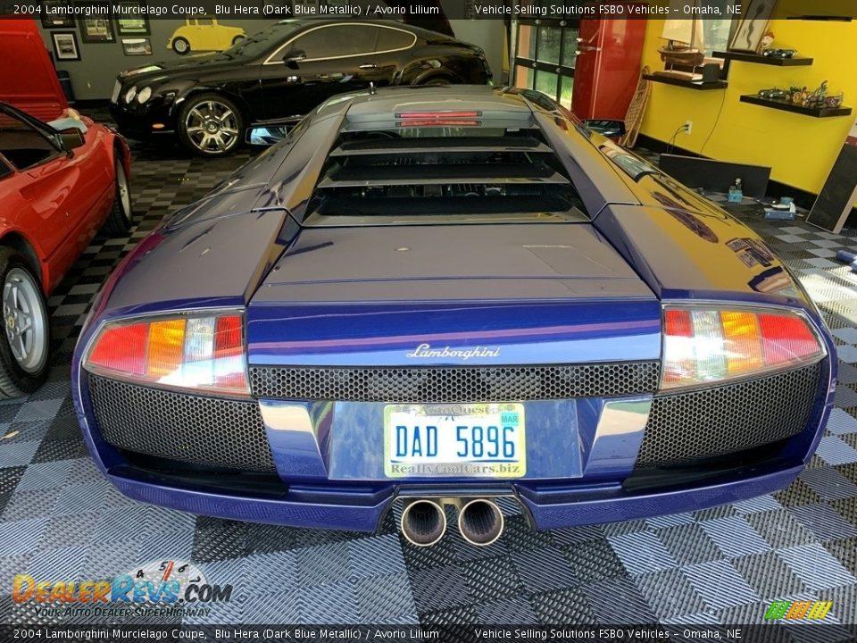 2004 Lamborghini Murcielago Coupe Blu Hera (Dark Blue Metallic) / Avorio Lilium Photo #18