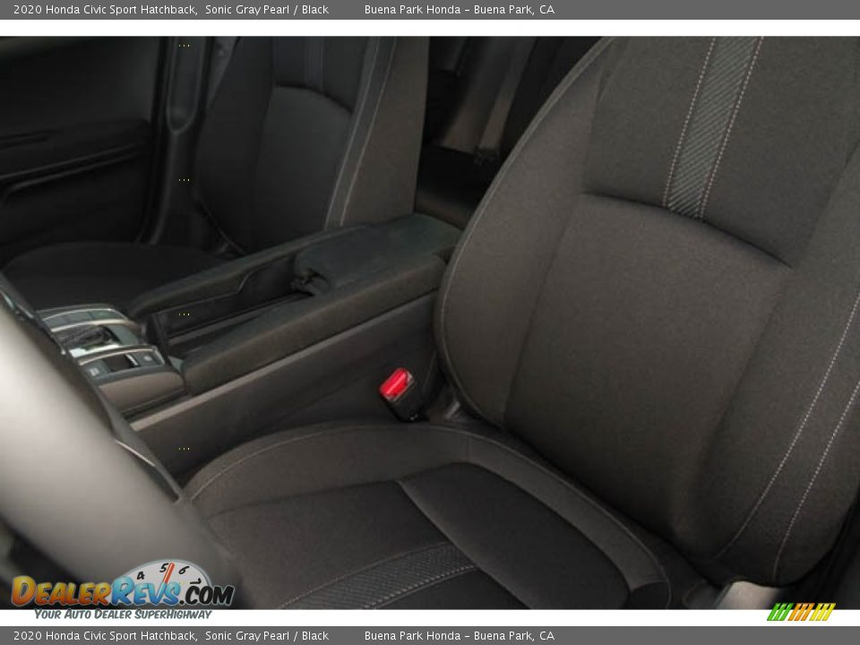 2020 Honda Civic Sport Hatchback Sonic Gray Pearl / Black Photo #21