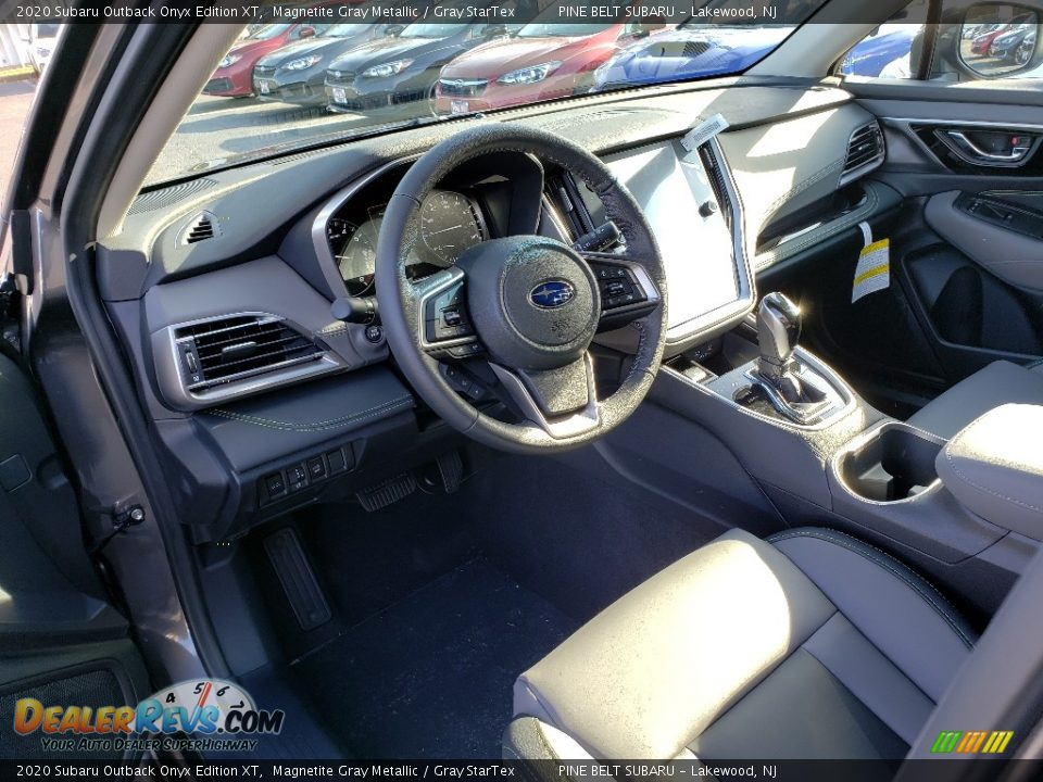 2020 Subaru Outback Onyx Edition XT Magnetite Gray Metallic / Gray StarTex Photo #7