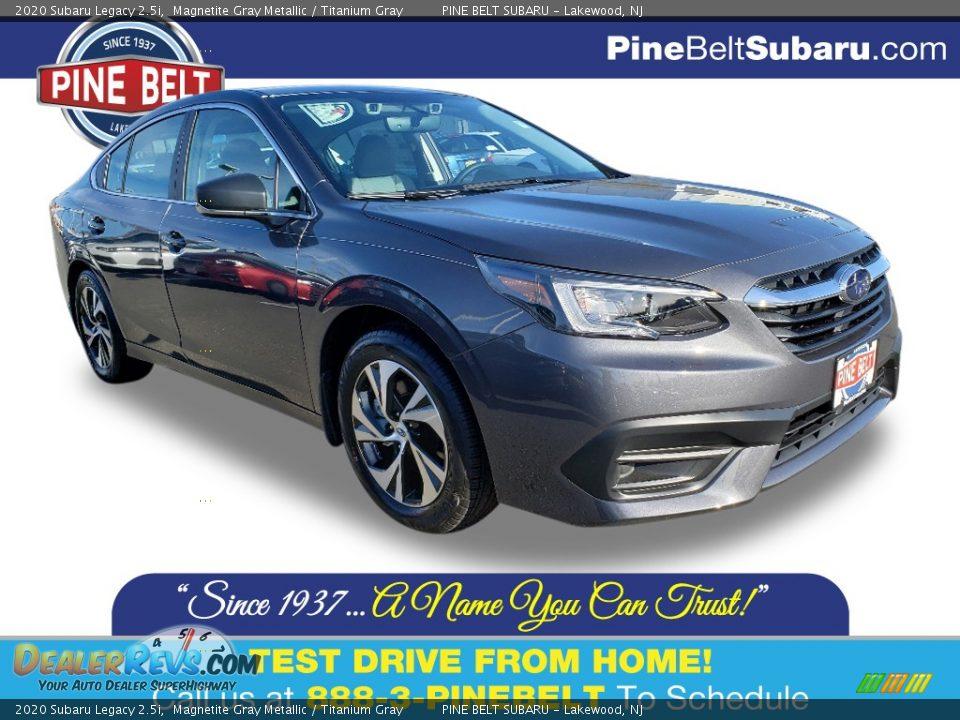 2020 Subaru Legacy 2.5i Magnetite Gray Metallic / Titanium Gray Photo #1