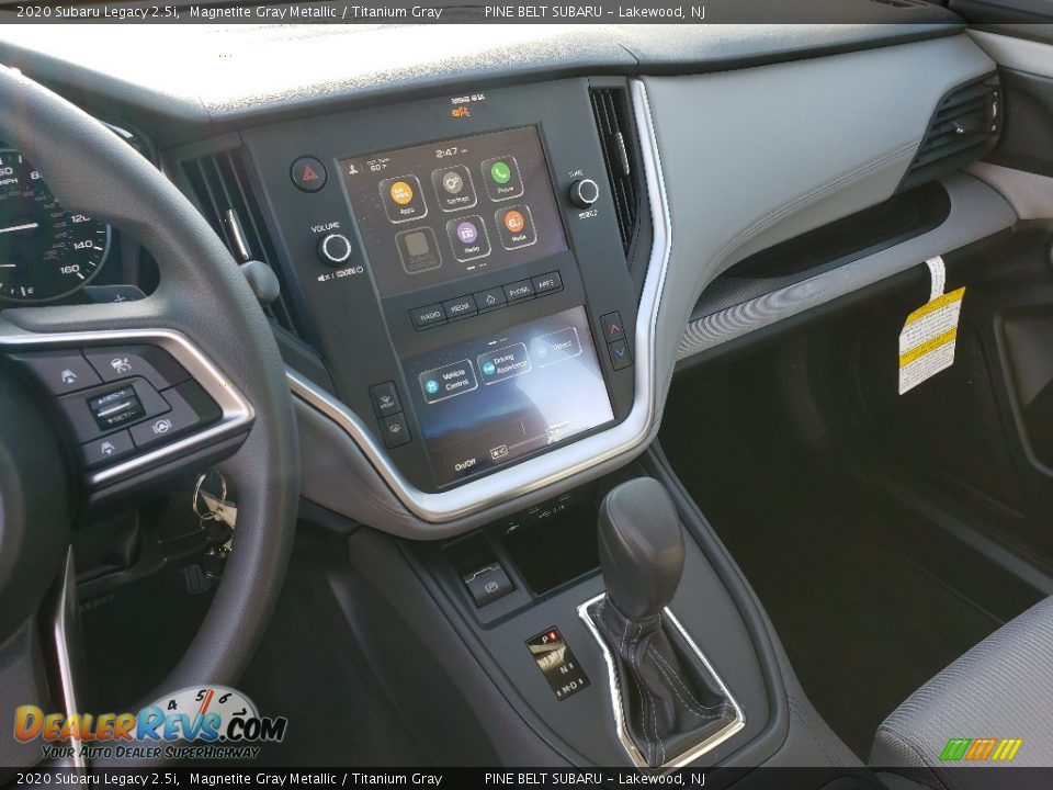 2020 Subaru Legacy 2.5i Magnetite Gray Metallic / Titanium Gray Photo #10