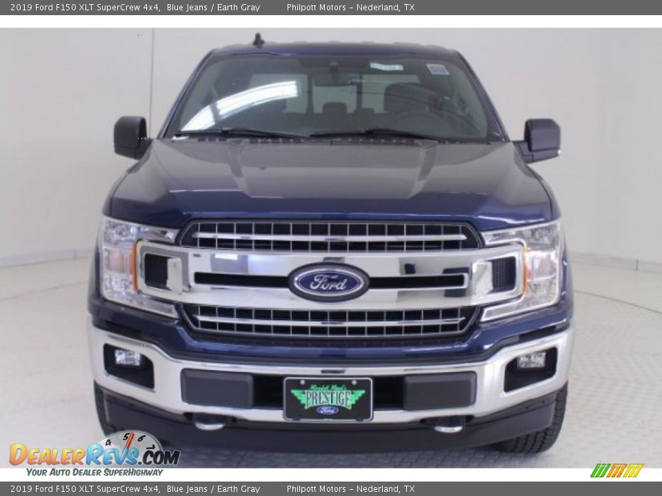 2019 Ford F150 XLT SuperCrew 4x4 Blue Jeans / Earth Gray Photo #2
