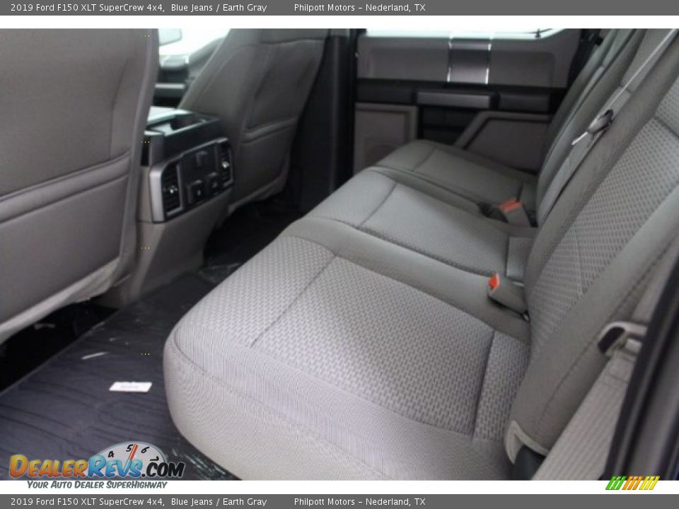 2019 Ford F150 XLT SuperCrew 4x4 Blue Jeans / Earth Gray Photo #20