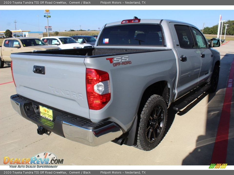 2020 Toyota Tundra TSS Off Road CrewMax Cement / Black Photo #8