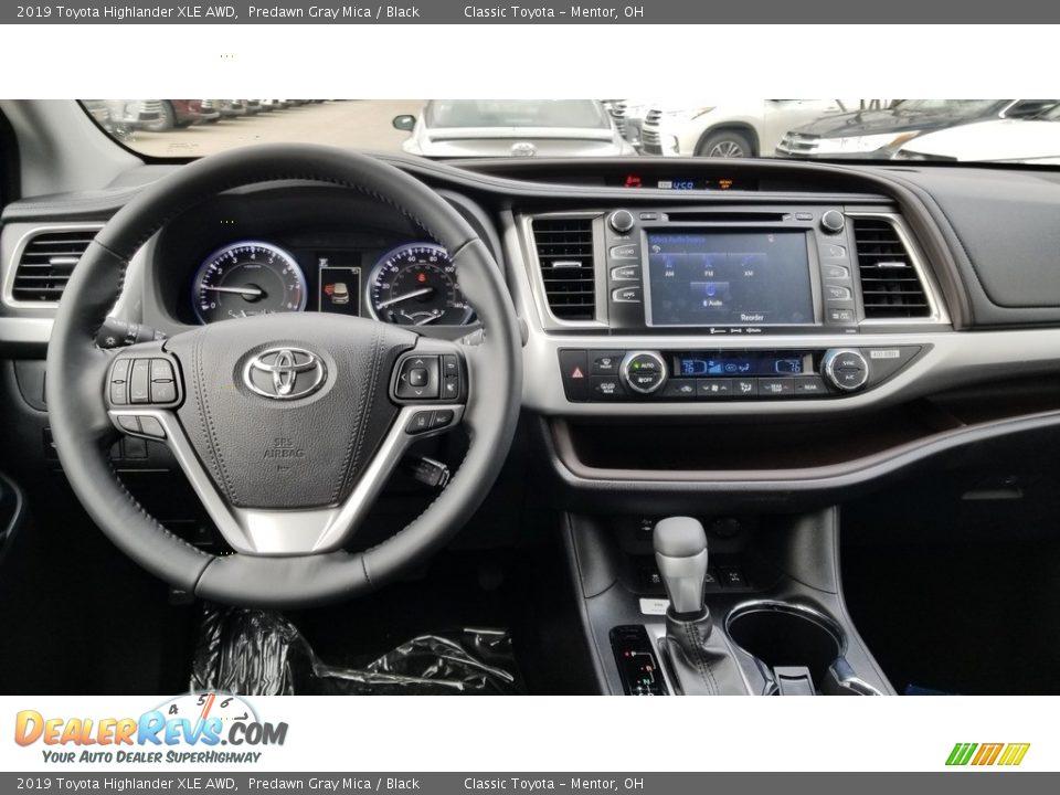 2019 Toyota Highlander XLE AWD Predawn Gray Mica / Black Photo #4