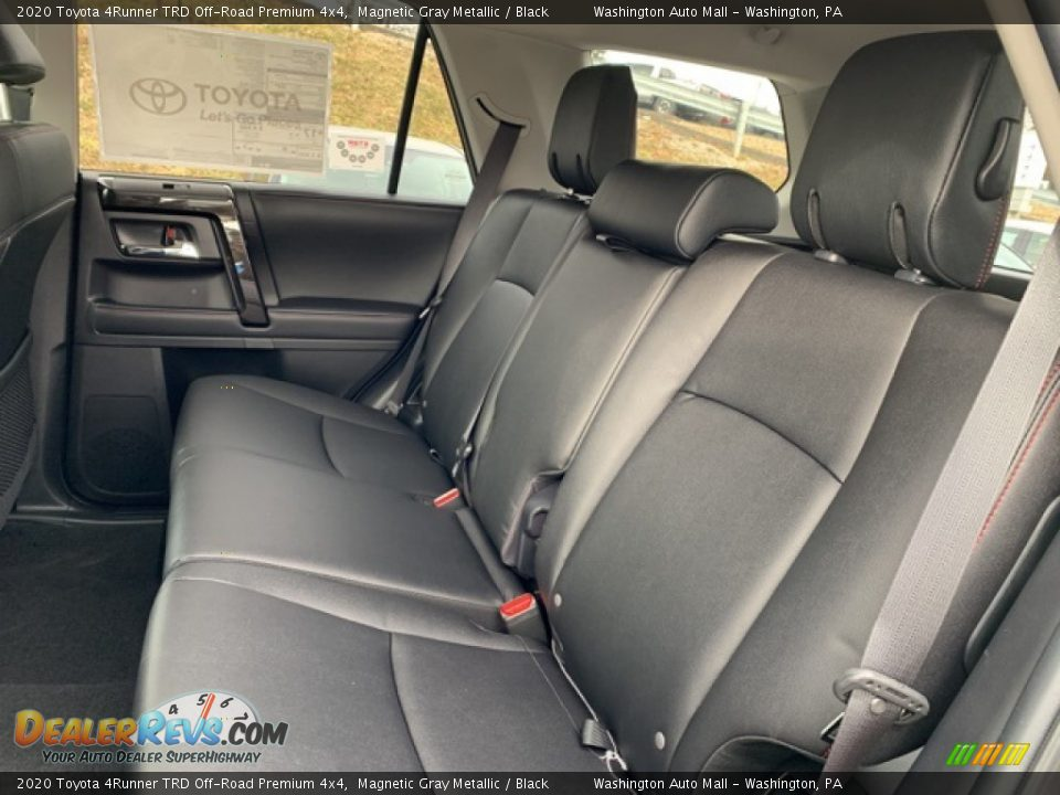 Rear Seat of 2020 Toyota 4Runner TRD Off-Road Premium 4x4 Photo #6