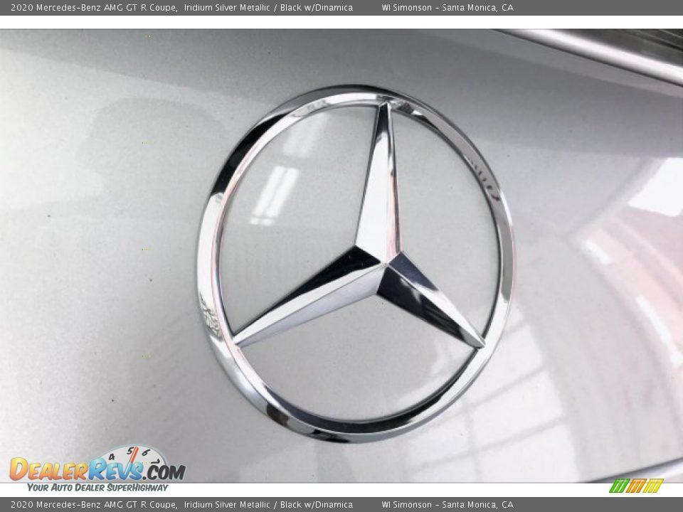 2020 Mercedes-Benz AMG GT R Coupe Iridium Silver Metallic / Black w/Dinamica Photo #7