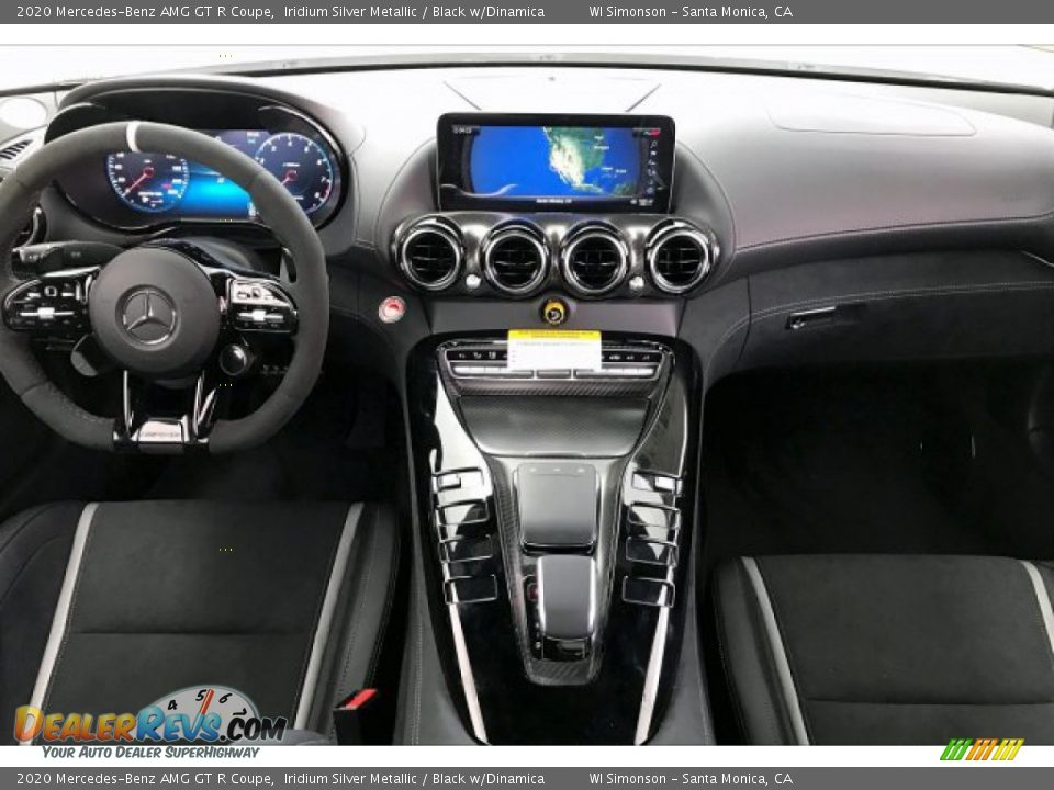 Dashboard of 2020 Mercedes-Benz AMG GT R Coupe Photo #15