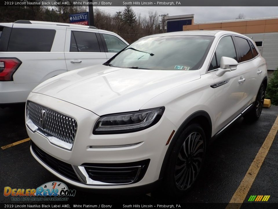 2019 Lincoln Nautilus Black Label AWD White Platinum / Ebony Photo #1