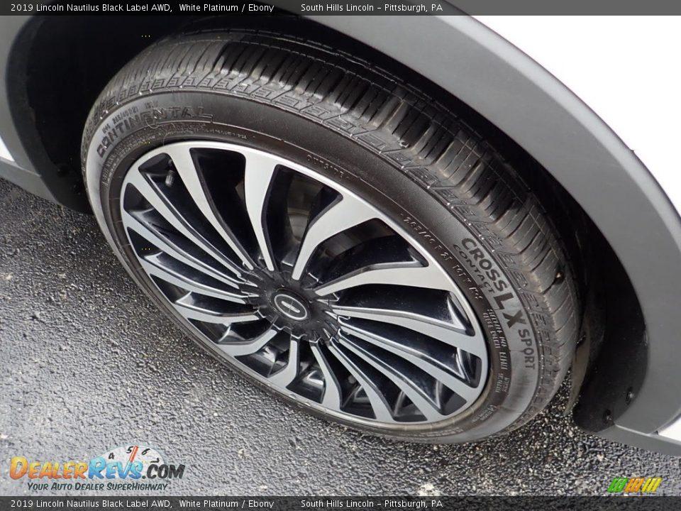 2019 Lincoln Nautilus Black Label AWD White Platinum / Ebony Photo #5