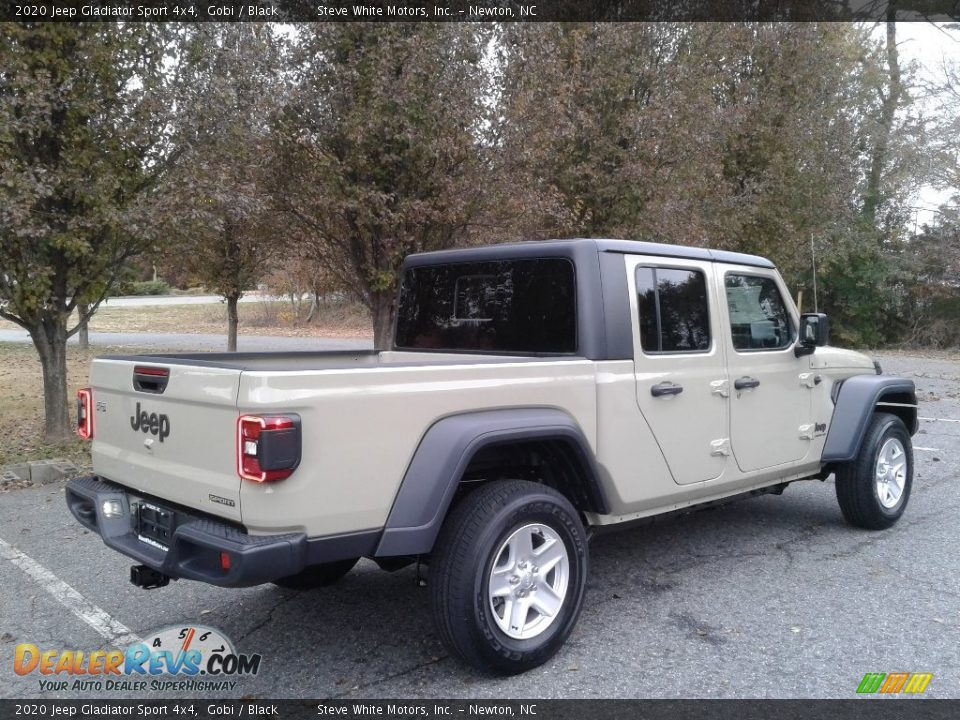 2020 Jeep Gladiator Sport 4x4 Gobi / Black Photo #7