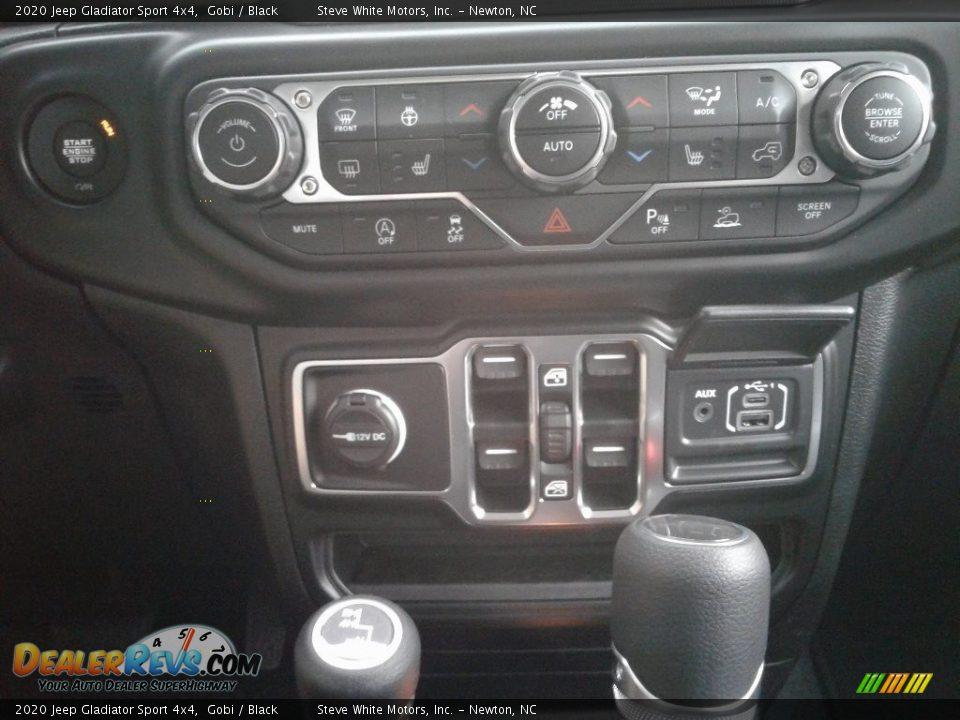 2020 Jeep Gladiator Sport 4x4 Gobi / Black Photo #25