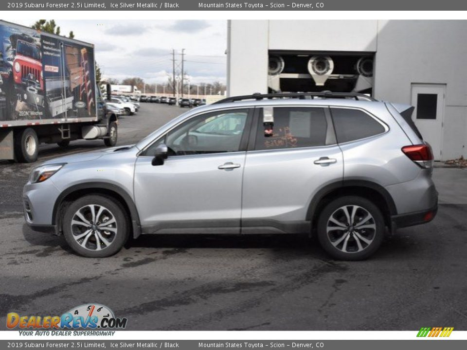 2019 Subaru Forester 2.5i Limited Ice Silver Metallic / Black Photo #3