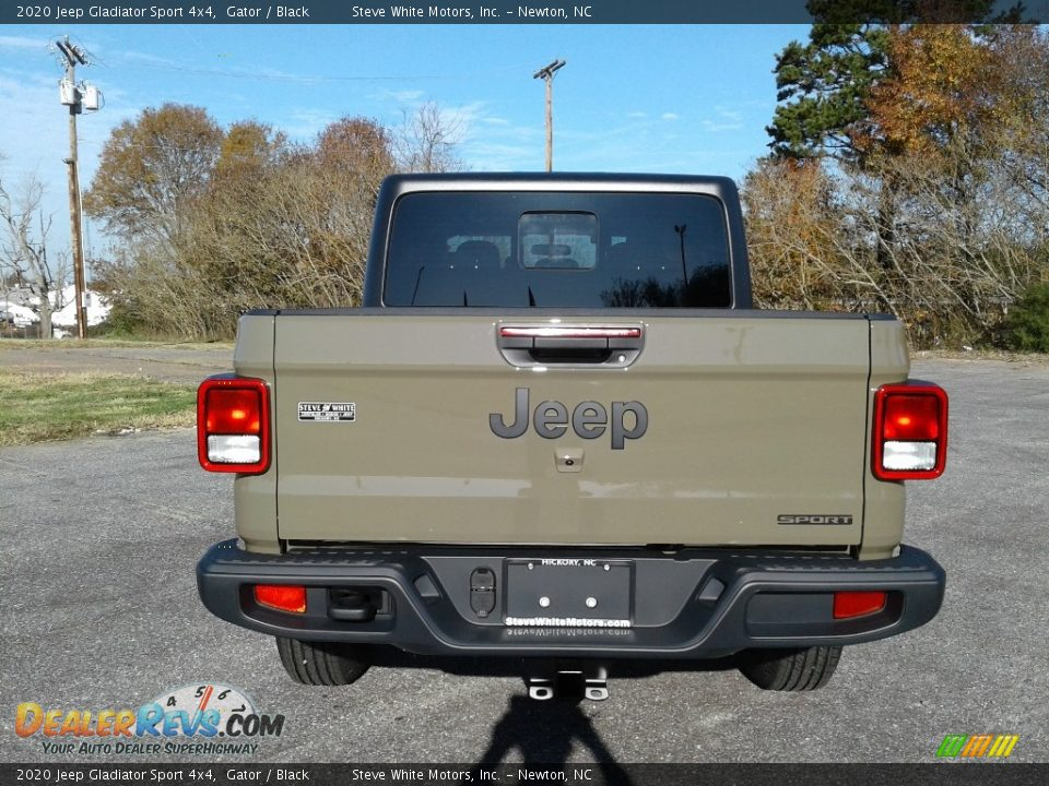2020 Jeep Gladiator Sport 4x4 Gator / Black Photo #7