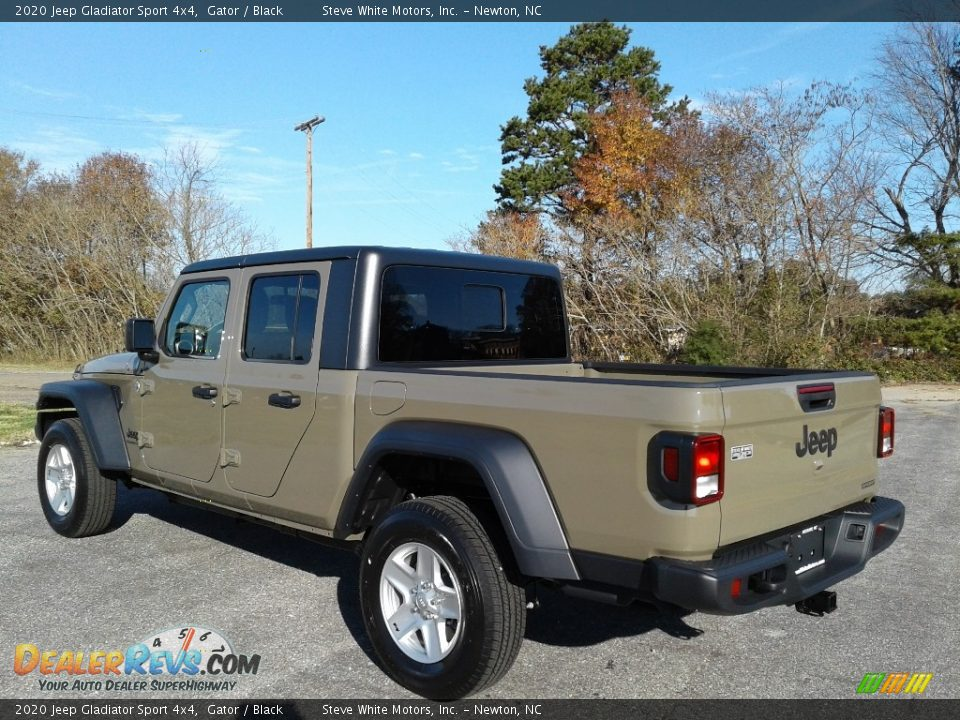 2020 Jeep Gladiator Sport 4x4 Gator / Black Photo #8