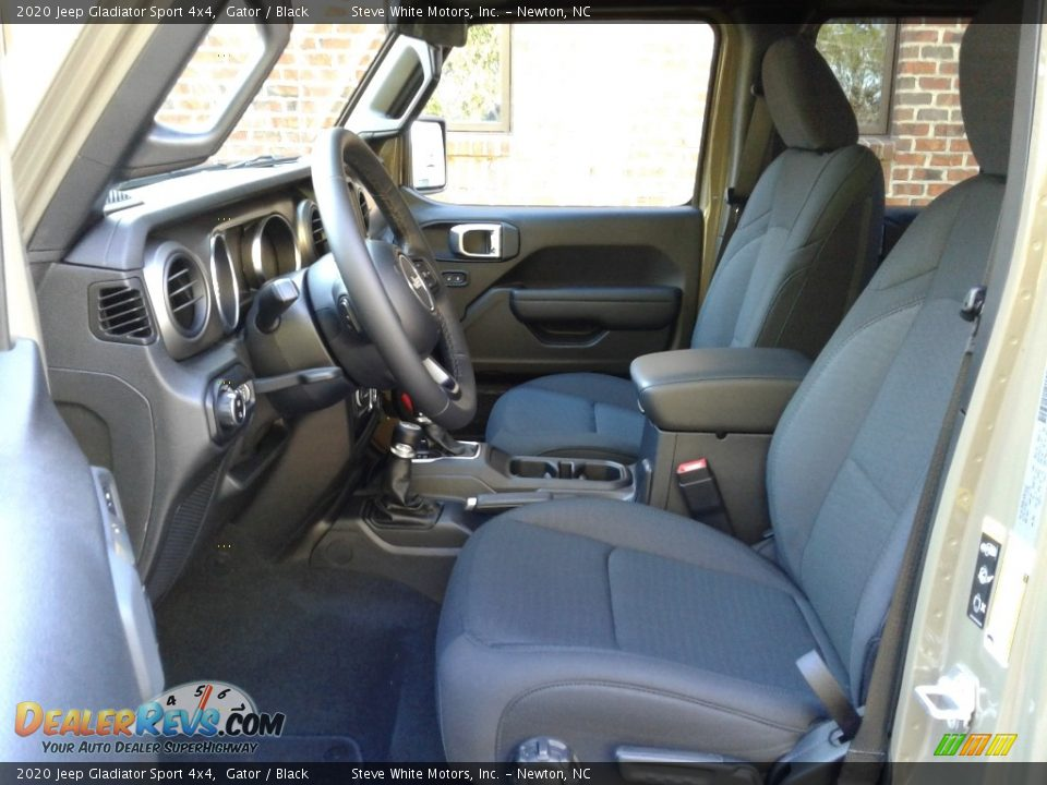 Front Seat of 2020 Jeep Gladiator Sport 4x4 Photo #10